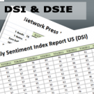Daily Sentiment Index: US (DSI) & EU (DSIE) [1 Year Subscription]