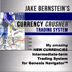 Jake Bernstein CURRENCY CRUSHER TRADING SYSTEM - NON-CLIENT