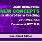 New Concepts in Short-Term Trading Webinar - Non-Client